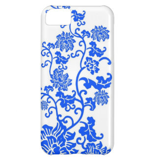 Chinese Blue and White Porcelain Decorative Patter Case For iPhone 5C
