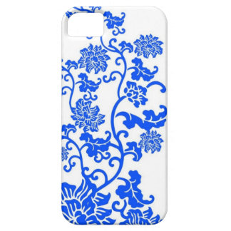 Chinese Blue and White Porcelain Decorative Patter iPhone 5 Case