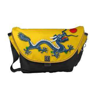 Chinese Blue Dragon  - Bag 2 Courier Bag