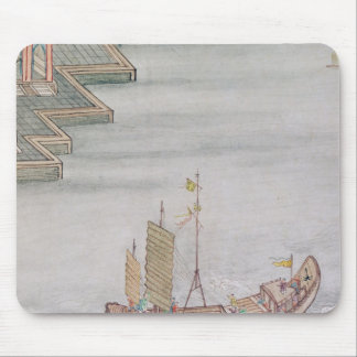 Chinese Boat Mouse Pad