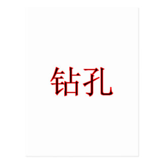 Chinese Boring 2 The MUSEUM Zazzle Gifts Postcard