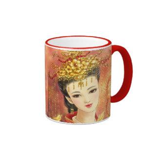 Chinese Bride with Phoenix Fantasy Mug