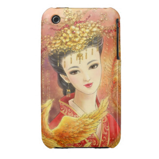 Chinese Bride with Phoenix iPhone 3G/3GS Case