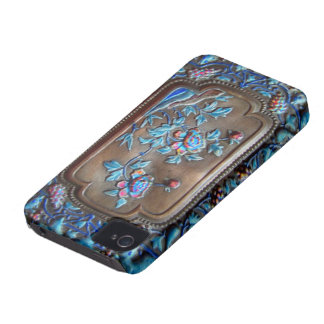chinese bronze and enamel iphone iPhone 4 case