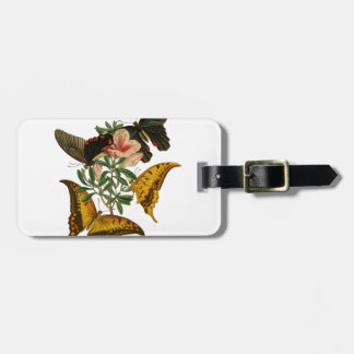 Chinese Butterflies Bag Tag