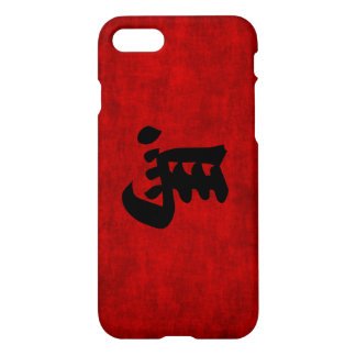 Chinese Calligraphy Symbol for Horse in Red iPhone 7 Case