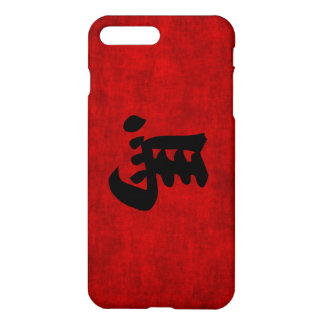 Chinese Calligraphy Symbol for Horse in Red iPhone 7 Plus Case