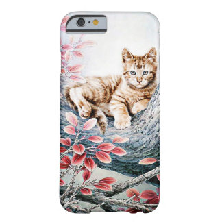 Chinese Cat Art Barely There iPhone 6 Case