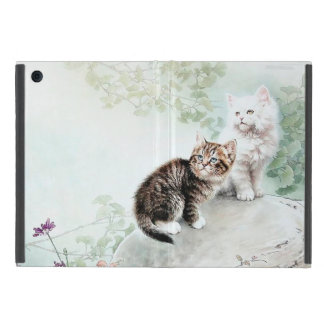 Chinese Cat Art Two Cats Cover For iPad Mini