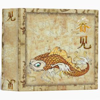 Chinese Catfish KNOWLEDGE Traditional 3 Ring Binder