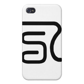 Chinese Character : ba, Meaning: eight number iPhone 4/4S Cover