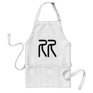 Chinese Character : bi3, Meaning: compare Aprons