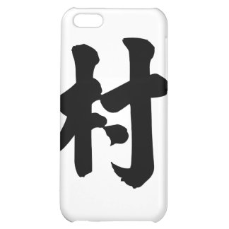 Chinese Character cun Meaning village iPhone 5C Case