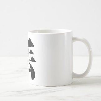 Chinese Character : diu, Meaning: lose, drop Coffee Mug