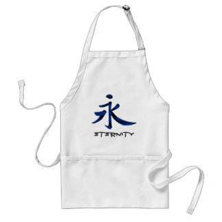 Chinese Character For Eternity Apron
