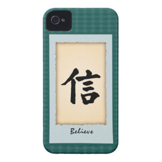 Chinese Character iPhone4 case - Believe