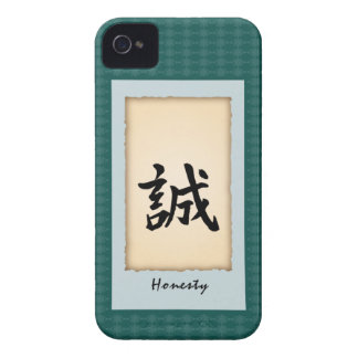 Chinese Character iPhone4 case - Honesty