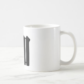 Chinese Character : jia, Meaning: add to, increase Coffee Mug