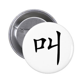 Chinese Character : jiao, Meaning: cry, shout Pin