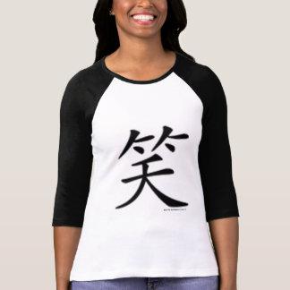 Chinese Character LAUGH Shirts