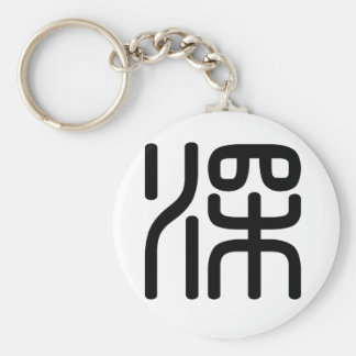 Chinese Character : shen, Meaning: deep, profound Key Chains