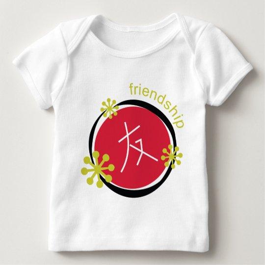 Chinese Character Symbol Friendship Baby T-Shirt