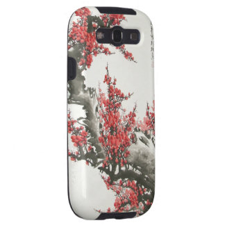 Chinese Cherry Blossom Samsung Galaxy SIII Cases