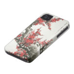 Chinese Cherry Blossom iPhone 4 Cases