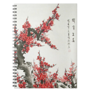 Chinese Cherry Blossom Notebook