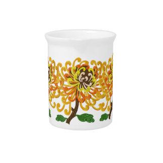 Chinese Chrysanthemum Pitcher
