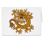 Chinese Coat of Arms (18th Century) Greeting Card