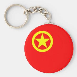 CHINESE COMMUNIST FLAG KEYCHAIN