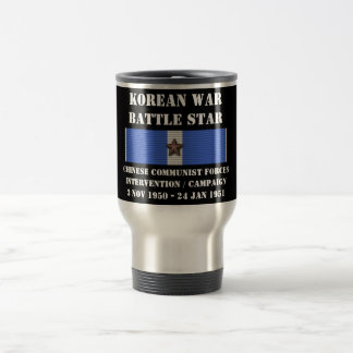 Chinese Communist Forces Intervention Campaign Coffee Mugs