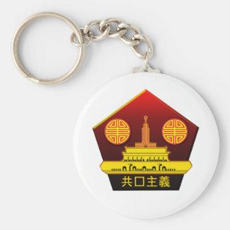 Chinese Communist Party Logo Key Ring Keychain