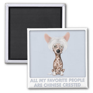 Chinese Crested 1 Favorite Refrigerator Magnets
