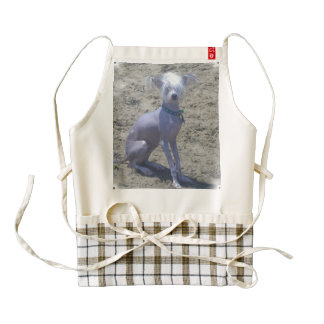 chinese-crested-2 zazzle HEART apron