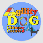 Chinese_Crested_Agility Gifts Sticker