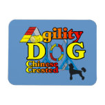 Chinese Crested Agility Magnets