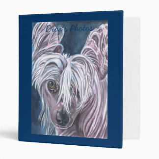 Chinese Crested Binder