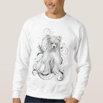 Chinese Crested Blue NB Sweatshirt