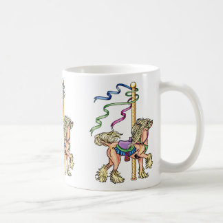 Chinese Crested Carousel Coffee Mug