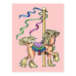 Chinese Crested Carousel Post Cards