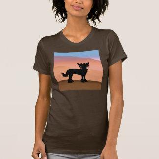 Chinese Crested Desert Hills T-Shirt