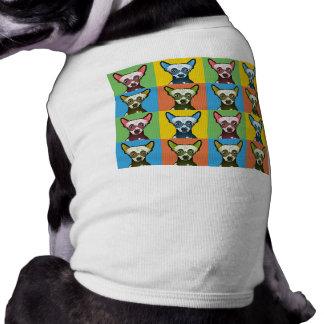 Chinese Crested Dog Cartoon Pop-Art Shirt