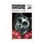 Chinese Crested Dog Postage