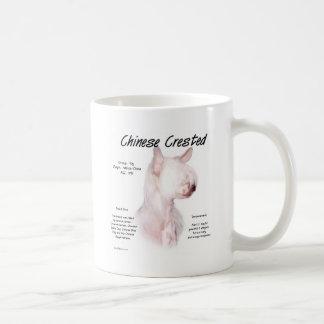 Chinese Crested (hairless) History Design Coffee Mug