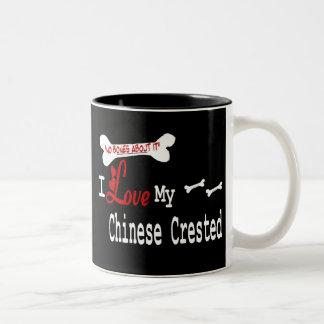 Chinese Crested (I Love) Mug