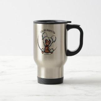 Chinese Crested IAAM Coffee Mugs