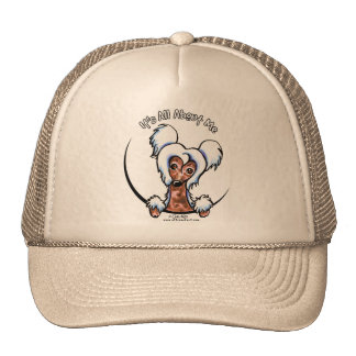 Chinese Crested IAAM Trucker Hat