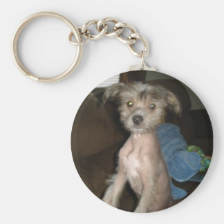 Chinese Crested KeyChain